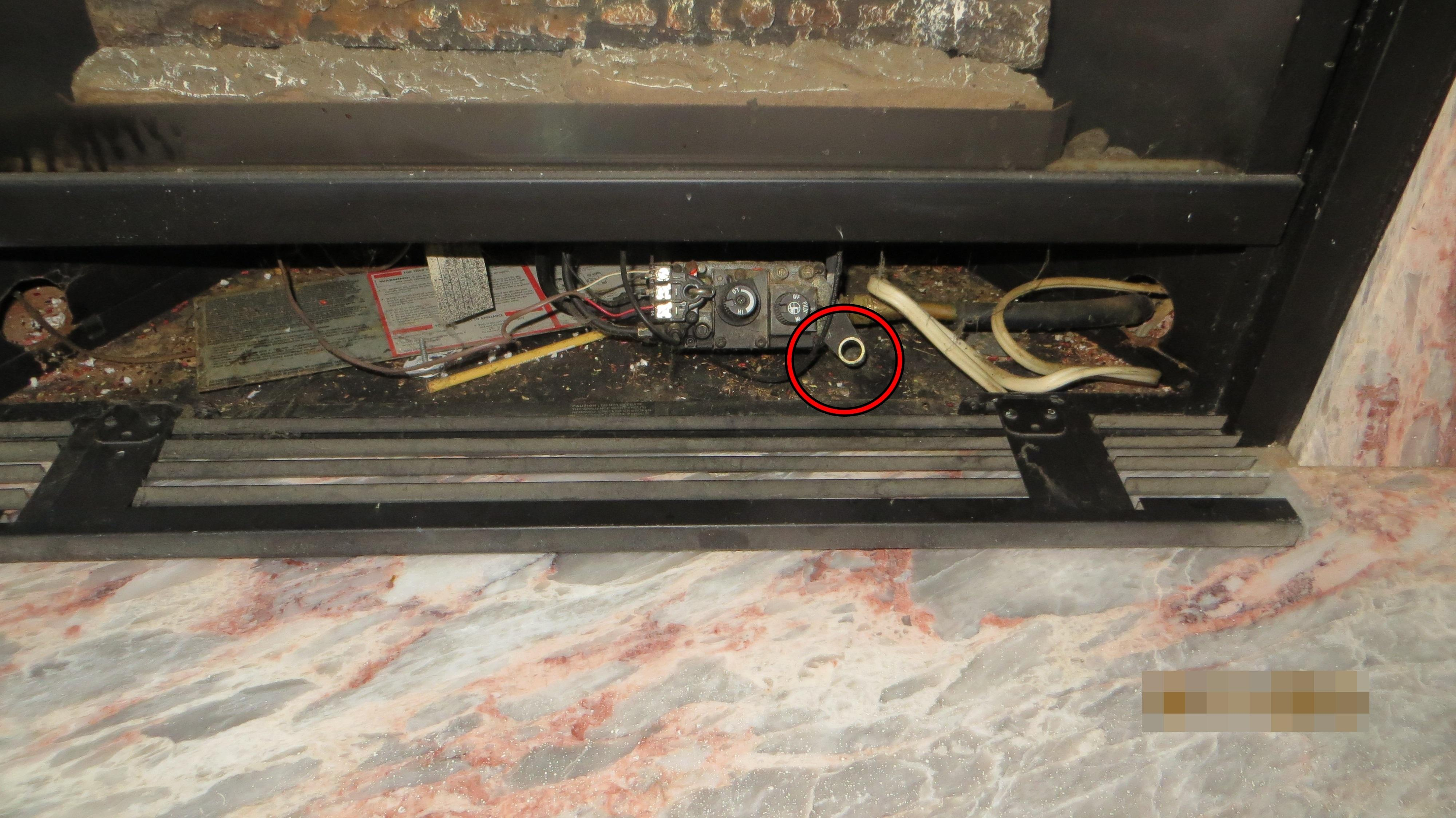 Homeowner says fireplace works, igniter missing