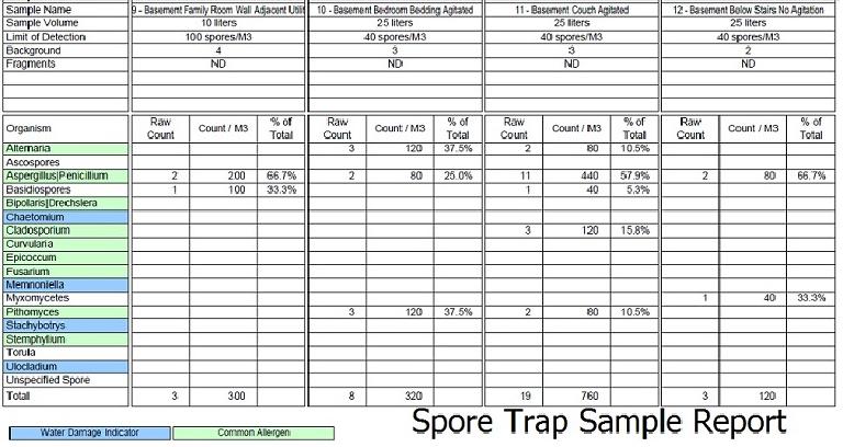 Spore Trap